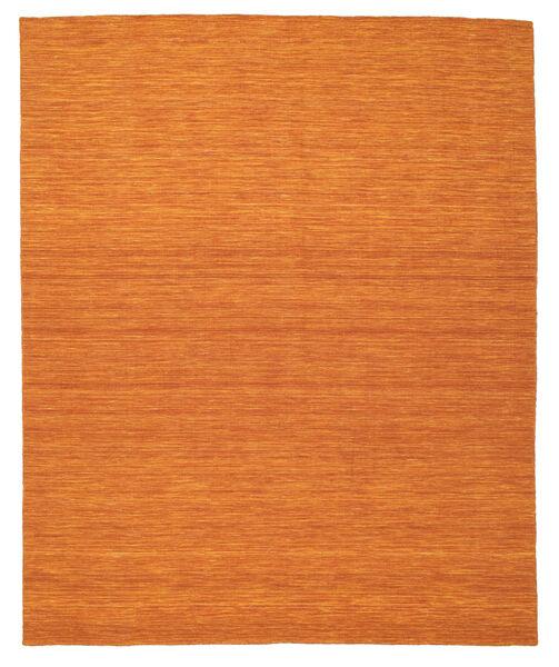Kelim Loom - Orange Matta 250X300 Äkta Modern Handvävd Orange Stor (Ull, Indien)