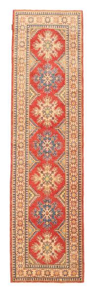 Turkeman Ariana Matta 84X312 Äkta Orientalisk Handknuten Hallmatta Roströd/Ljusbrun (Ull, Afghanistan)