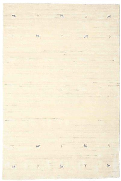 Gabbeh Loom Two Lines - Naturvit Matta 190X290 Modern Beige/Vit/Cremefärgad (Ull, Indien)