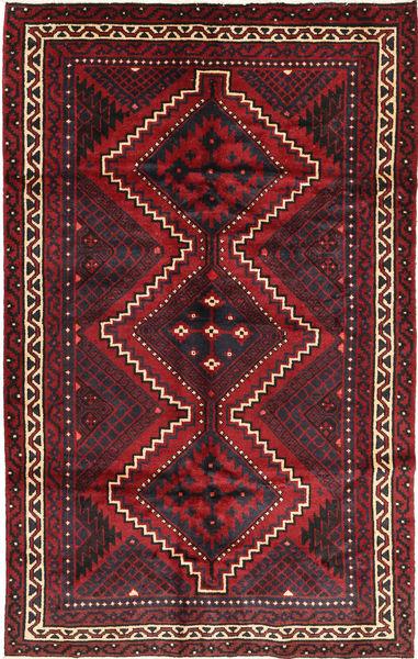 Lori Matta 178X283 Äkta Orientalisk Handknuten Mörkröd/Mörkbrun (Ull, Persien/Iran)