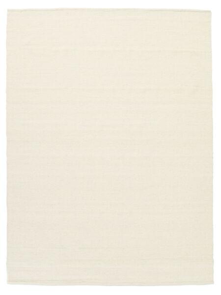 Kelim Loom - Naturvit Matta 160X230 Äkta Modern Handvävd Beige/Vit/Cremefärgad (Ull, Indien)