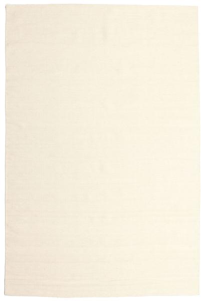 Kelim Loom - Naturvit Matta 200X300 Äkta Modern Handvävd Beige/Vit/Cremefärgad (Ull, Indien)