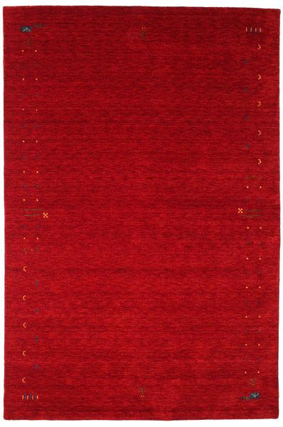 Gabbeh Loom Frame - Röd Matta 190X290 Modern Röd/Mörkröd (Ull, Indien)