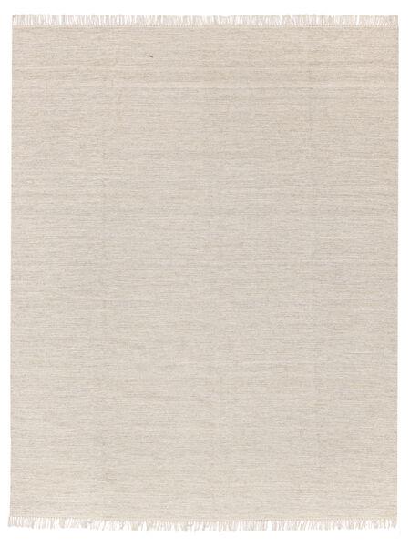 Melerad - Sand Matta 250X300 Äkta Modern Handvävd Beige/Ljusgrå Stor (Ull, Indien)