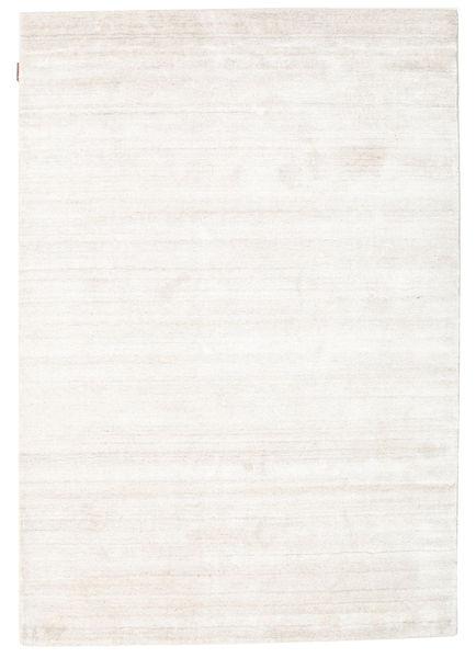Bambu Silke Loom - Beige Matta 140X200 Modern Beige/Vit/Cremefärgad ( Indien)
