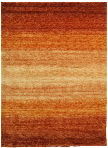 Gabbeh Rainbow - Rost Matta 210X290 Modern Roströd/Ljusbrun (Ull, Indien)