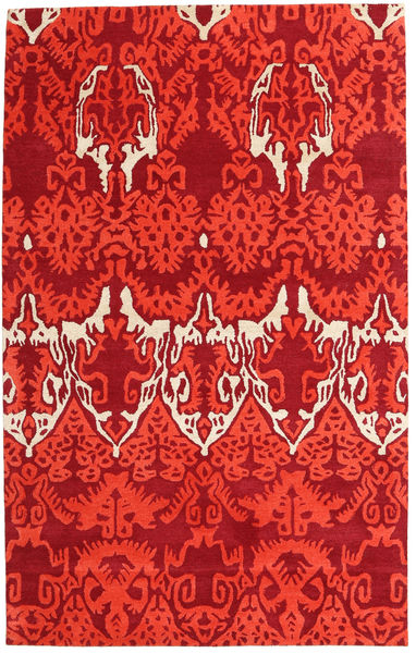 Handtufted Matta 153X246 Modern Röd (Ull, Indien)
