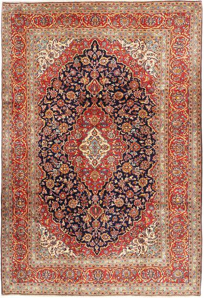 Keshan Matta 244X357 Äkta Orientalisk Handknuten Mörkbrun/Brun (Ull, Persien/Iran)