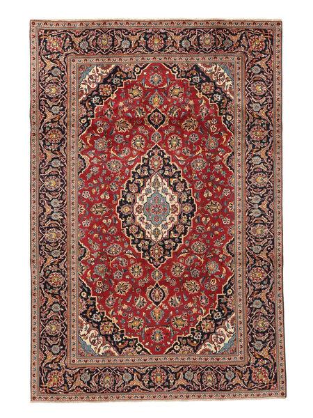 Keshan Matta 195X292 Äkta Orientalisk Handknuten Roströd/Brun (Ull, Persien/Iran)