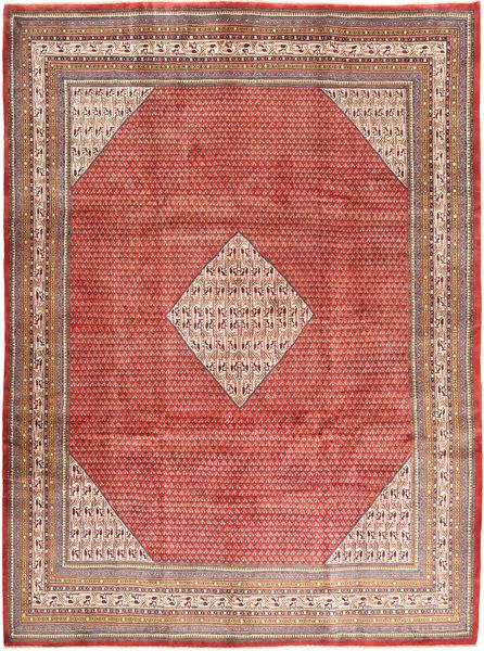 Sarough Mir Matta 290X390 Äkta Orientalisk Handknuten Mörkröd/Roströd Stor (Ull, Persien/Iran)