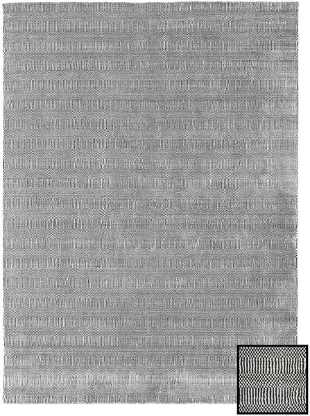 Bambu Grass - Black_ Grå Matta 210X290 Modern Ljusgrå (Ull/Bambusilke, Turkiet)