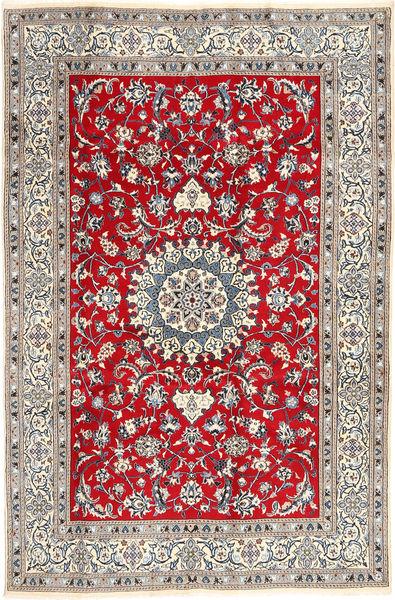 Nain Matta 196X297 Äkta Orientalisk Handknuten Ljusgrå/Brun (Ull, Persien/Iran)