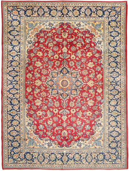Najafabad Matta 299X406 Äkta Orientalisk Handknuten Roströd/Mörkgrå Stor (Ull, Persien/Iran)