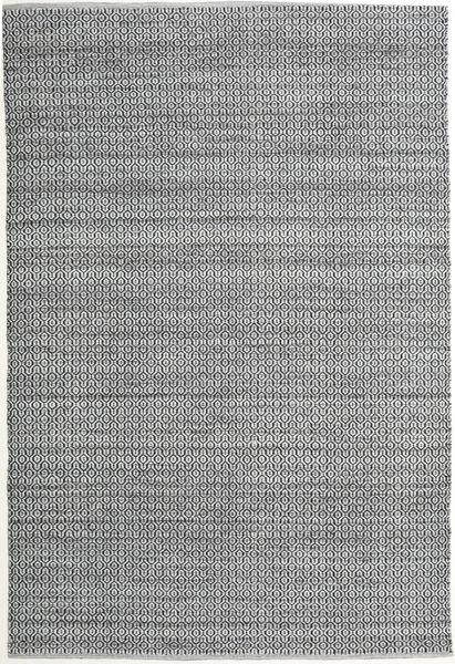 Alva - Grå/Svart Matta 200X300 Äkta Modern Handvävd Ljusgrå/Ljusgrön (Ull, Indien)