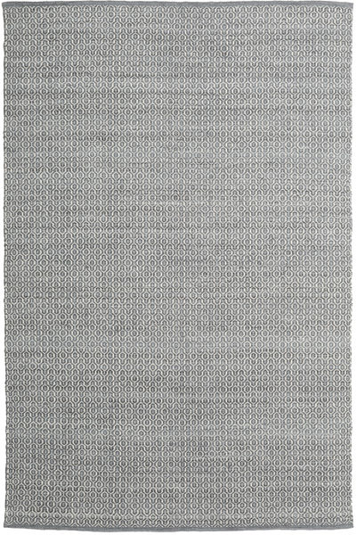 Alva - Mörkgrå/Vit Matta 200X300 Äkta Modern Handvävd Ljusgrå/Mörkgrå (Ull, Indien)