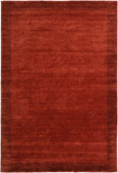 Handloom Frame - Rost Matta 300X400 Modern Roströd/Röd Stor (Ull, Indien)
