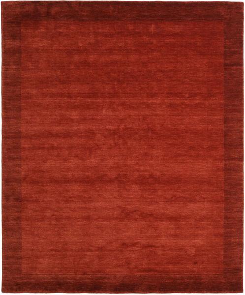Handloom Frame - Rost Matta 250X300 Modern Roströd/Röd Stor (Ull, Indien)