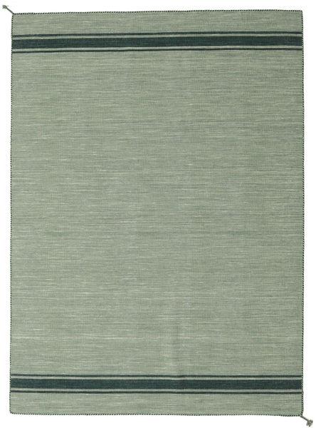 Ernst - Grön/Mörk _Green Matta 170X240 Äkta Modern Handvävd Ljusgrön/Pastellgrön (Ull, Indien)