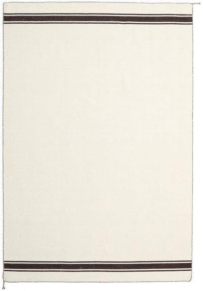 Ernst - Naturvit/Brun Matta 200X300 Äkta Modern Handvävd Beige/Mörkbeige (Ull, Indien)