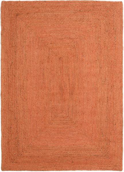 Utomhusmatta Frida Color - Orange Matta 140X200 Äkta Modern Handvävd Orange/Röd (Jutematta Indien)