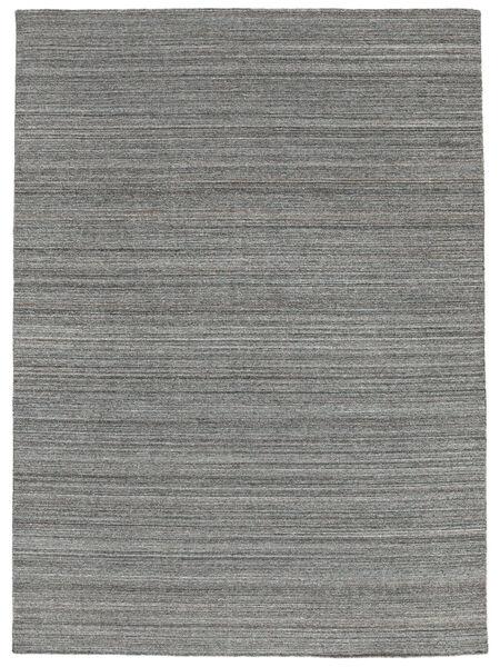 Utomhusmatta Petra - Dark_Mix Matta 140X200 Äkta Modern Handvävd Mörkgrå/Ljusblå ( Indien)