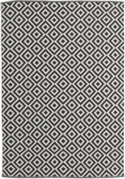 Torun - Svart/Neutral Matta 170X240 Äkta Modern Handvävd Svart/Mörkbeige (Bomull, Indien)
