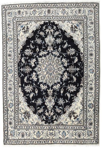 Nain Matta 164X236 Äkta Orientalisk Handknuten Ljusgrå/Svart (Ull, Persien/Iran)