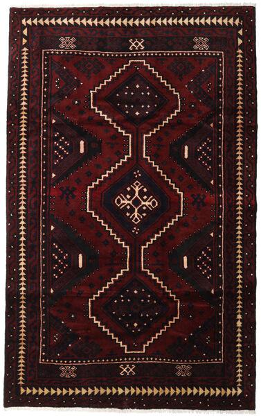Lori Matta 170X274 Äkta Orientalisk Handknuten Mörkröd (Ull, Persien/Iran)