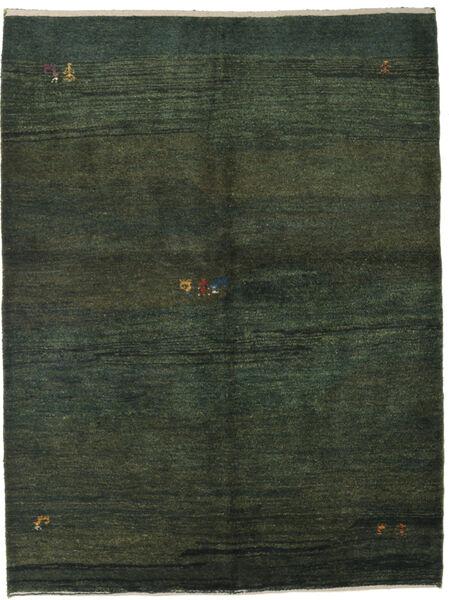 Gabbeh Persisk Matta 152X203 Äkta Modern Handknuten Mörkgrön (Ull, Persien/Iran)