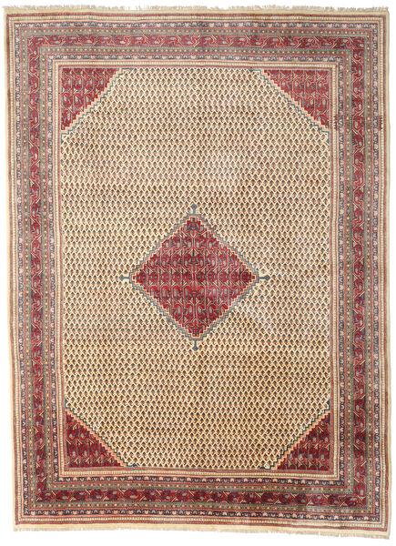 Sarough Mir Matta 281X382 Äkta Orientalisk Handknuten Ljusbrun/Beige Stor (Ull, Persien/Iran)