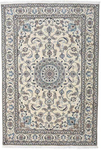 Nain Matta 195X284 Äkta Orientalisk Handknuten Ljusgrå/Mörkgrå (Ull, Persien/Iran)