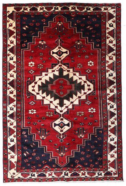 Lori Matta 171X254 Äkta Orientalisk Handknuten Mörkröd (Ull, Persien/Iran)
