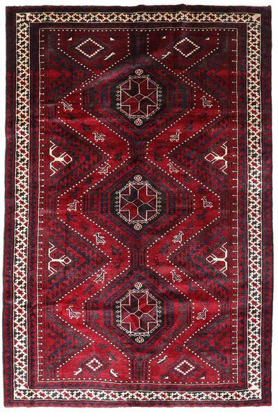 Lori Matta 168X254 Äkta Orientalisk Handknuten Mörkröd (Ull, Persien/Iran)