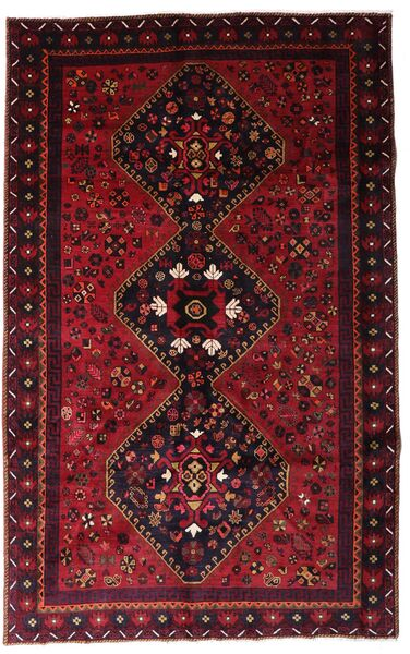 Lori Matta 166X265 Äkta Orientalisk Handknuten Mörkröd (Ull, Persien/Iran)
