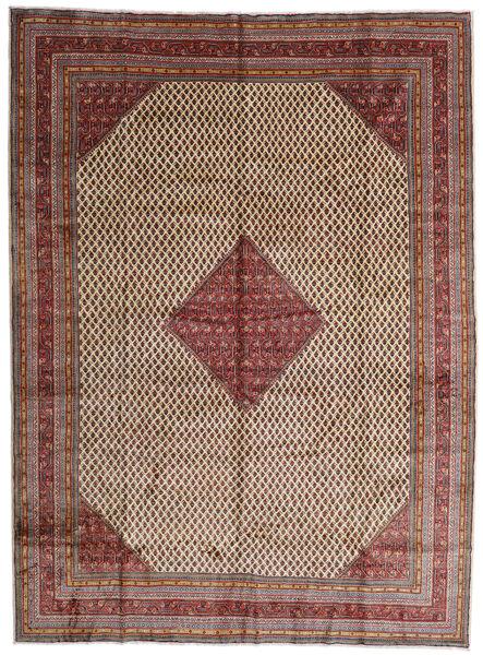 Sarough Mir Matta 291X395 Äkta Orientalisk Handknuten Mörkröd/Mörkbrun Stor (Ull, Persien/Iran)