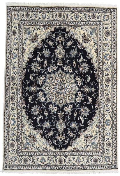 Nain Matta 164X238 Äkta Orientalisk Handknuten Mörkgrå/Svart (Ull, Persien/Iran)