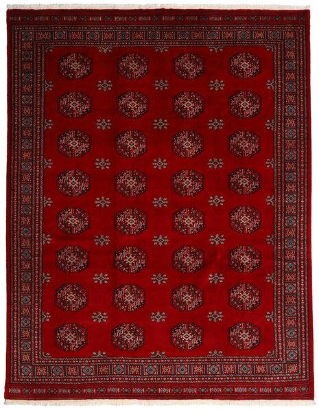 Pakistan Bokhara 3Ply Matta 249X315 Äkta Orientalisk Handknuten Mörkröd/Röd (Ull, Pakistan)