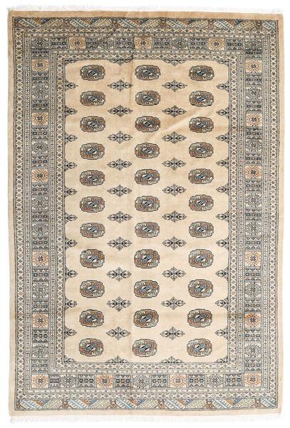 Pakistan Bokhara 2Ply Matta 172X252 Äkta Orientalisk Handknuten Beige/Ljusgrå (Ull, Pakistan)