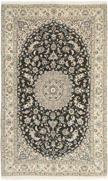 Nain 9La Matta 146X242 Äkta Orientalisk Handknuten Ljusgrå/Beige (Ull/Silke, Persien/Iran)