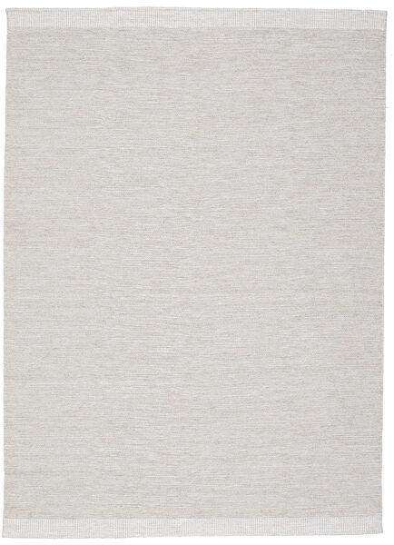 Serafina - Beige_Melange Matta 140X200 Äkta Modern Handvävd Ljusgrå (Ull, Indien)