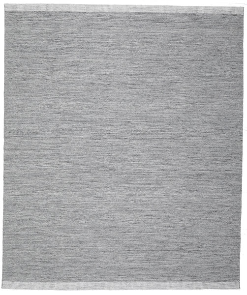 Serafina - Mörkgrå Melerad Matta 250X300 Äkta Modern Handvävd Ljusblå/Ljusgrå Stor (Ull, Indien)