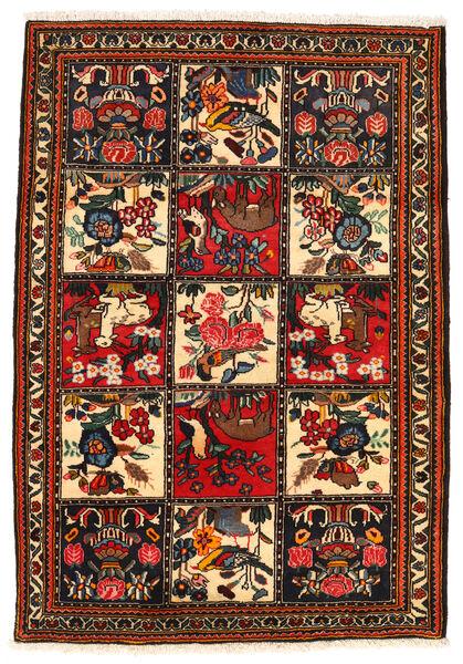 Bakhtiar Collectible Matta 113X161 Äkta Orientalisk Handknuten Mörkbrun/Röd (Ull, Persien/Iran)