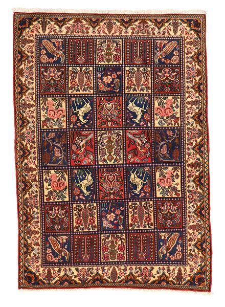 Bakhtiar Collectible Matta 108X152 Äkta Orientalisk Handknuten Mörkbrun/Svart (Ull, Persien/Iran)