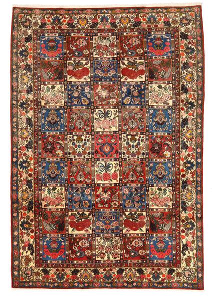 Bakhtiar Collectible Matta 205X300 Äkta Orientalisk Handknuten Mörkbrun (Ull, Persien/Iran)