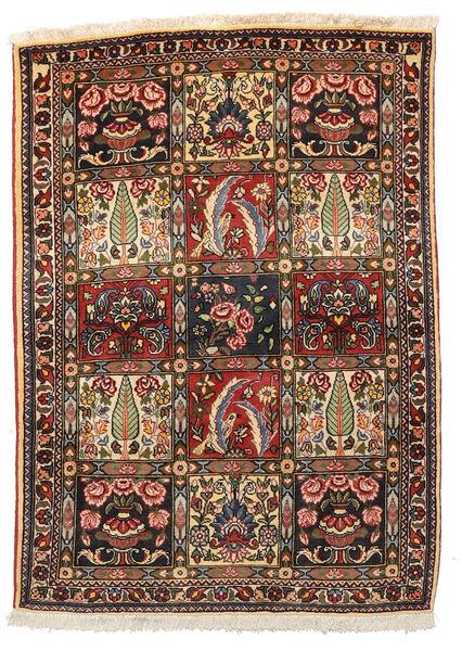 Bakhtiar Collectible Matta 109X152 Äkta Orientalisk Handknuten Mörkbrun/Beige (Ull, Persien/Iran)