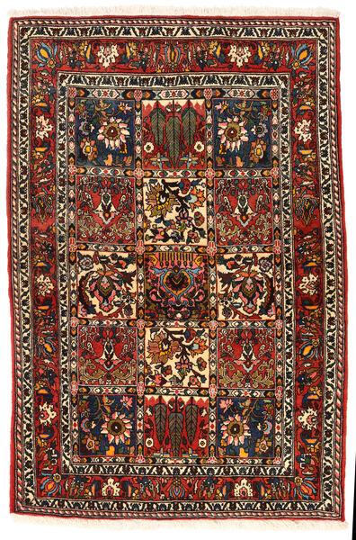 Bakhtiar Collectible Matta 108X162 Äkta Orientalisk Handknuten Mörkbrun/Ljusbrun (Ull, Persien/Iran)