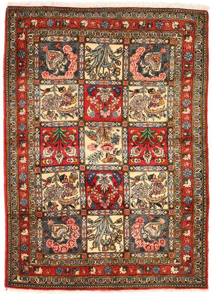 Bakhtiar Collectible Matta 105X148 Äkta Orientalisk Handknuten Mörkgrå/Brun (Ull, Persien/Iran)
