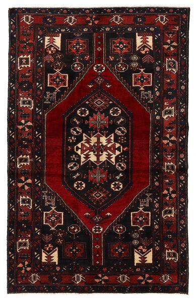 Bakhtiar Matta 132X210 Äkta Orientalisk Handknuten Mörkbrun/Mörkröd (Ull, Persien/Iran)