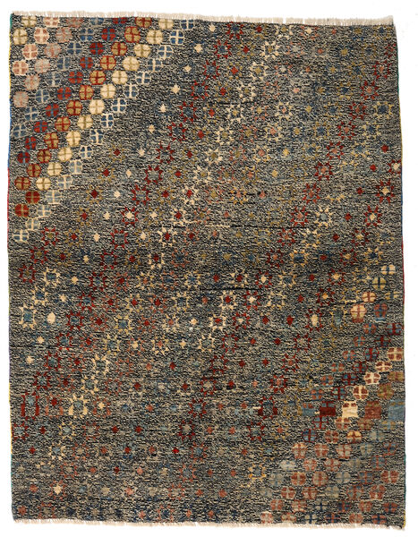 Moroccan Berber - Afghanistan Matta 121X186 Äkta Modern Handknuten Mörkgrå/Brun (Ull, Afghanistan)