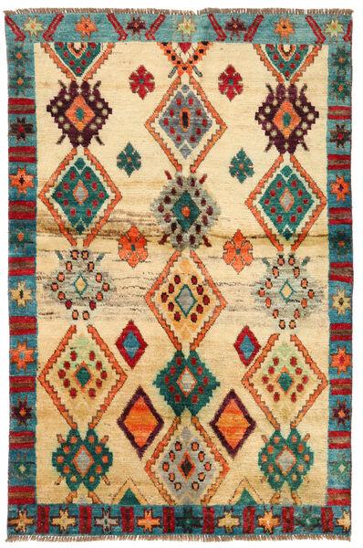 Moroccan Berber - Afghanistan Matta 114X183 Äkta Modern Handknuten Mörkbeige/Beige (Ull, Afghanistan)